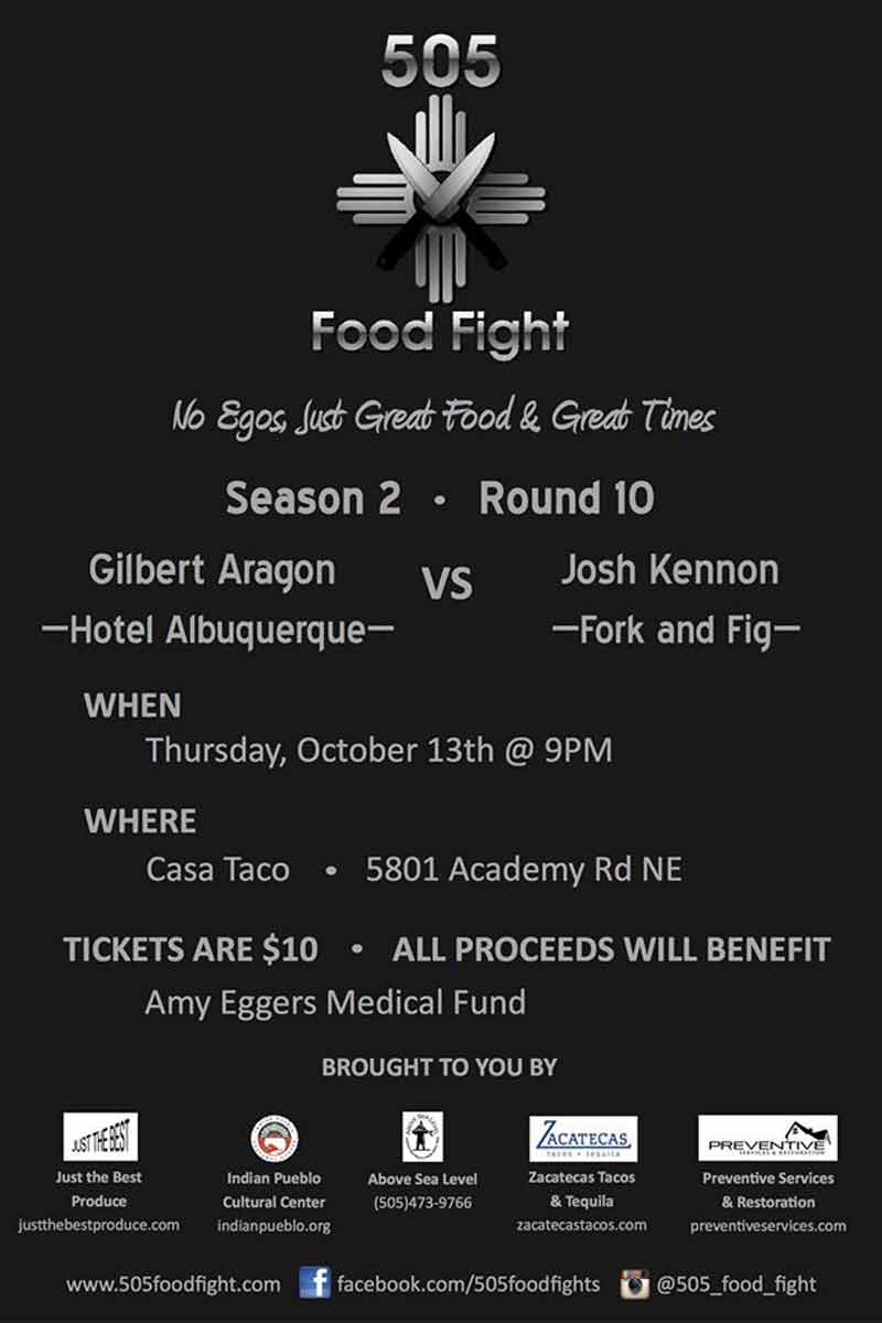 505 Food Fight October 2016