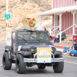 Casa Taco Float in the Fiesta Parade