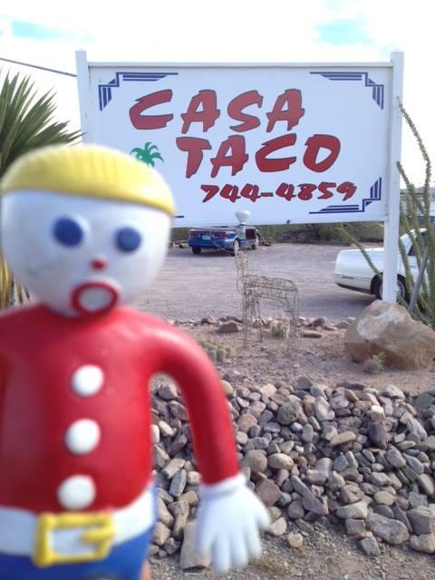 Mr. Bill at Casa Taco