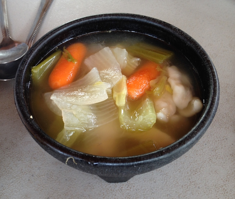Polish Grandma's Chicken and Dumpling soup