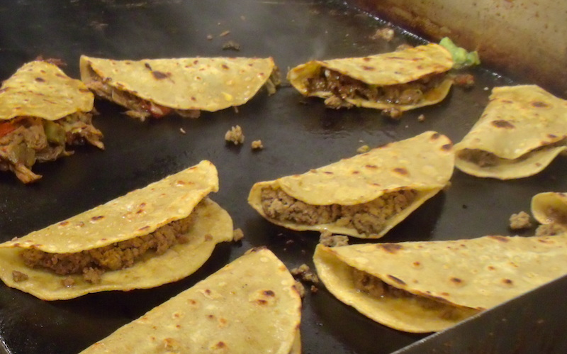 Monday night tacos are $1.50 - grilled to perfection