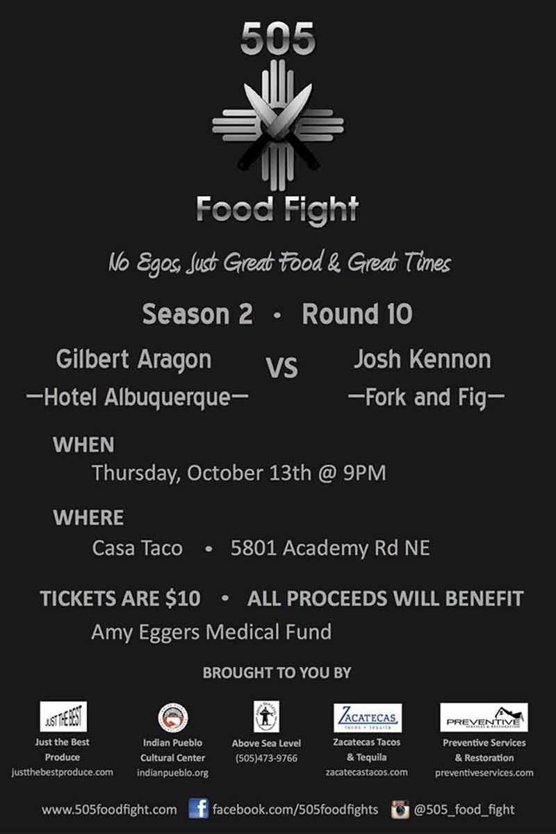 505 Food Fight October 2016